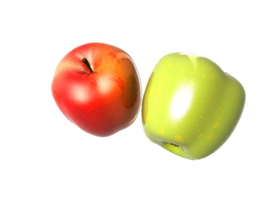 Las manzanas royalty-free modelo 3d - Preview no. 13