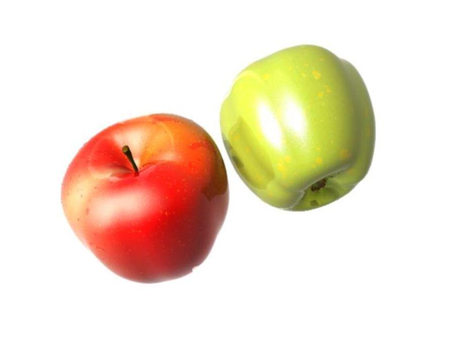 Las manzanas royalty-free modelo 3d - Preview no. 12