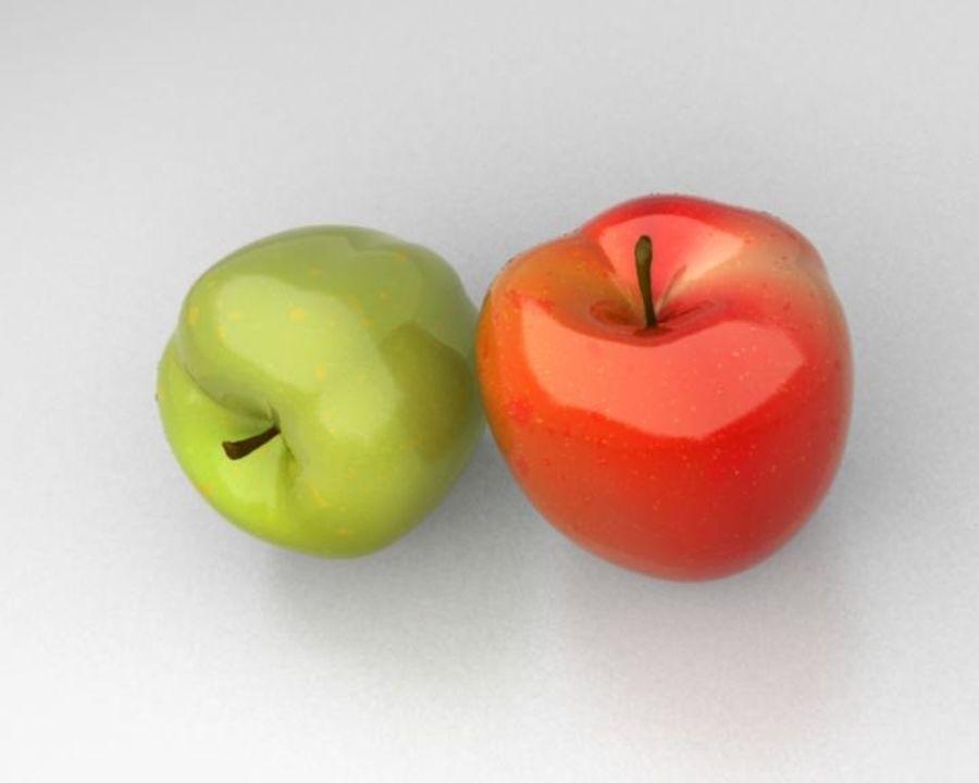 Las manzanas royalty-free modelo 3d - Preview no. 2