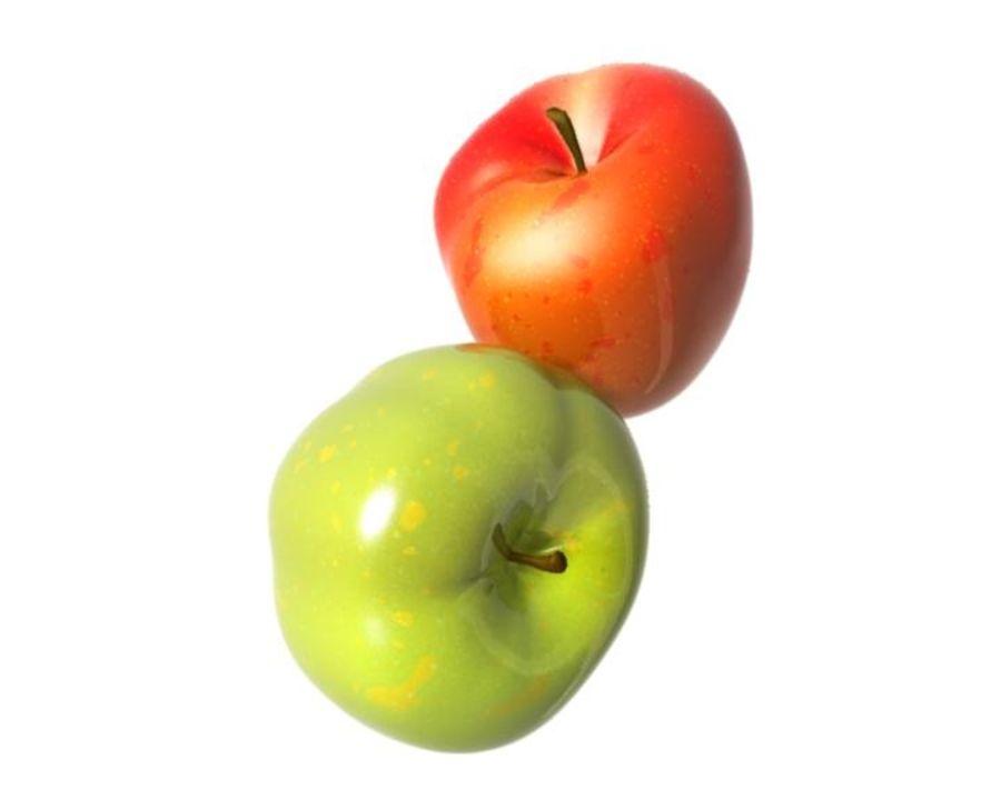 Las manzanas royalty-free modelo 3d - Preview no. 15
