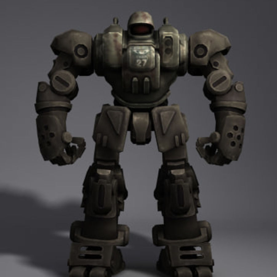 Power Armor royalty-free 3d model - Preview no. 2