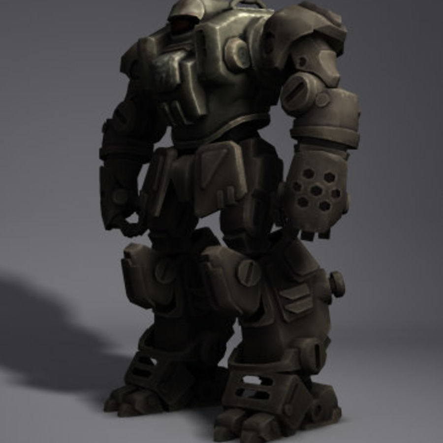 Power Armor royalty-free 3d model - Preview no. 3