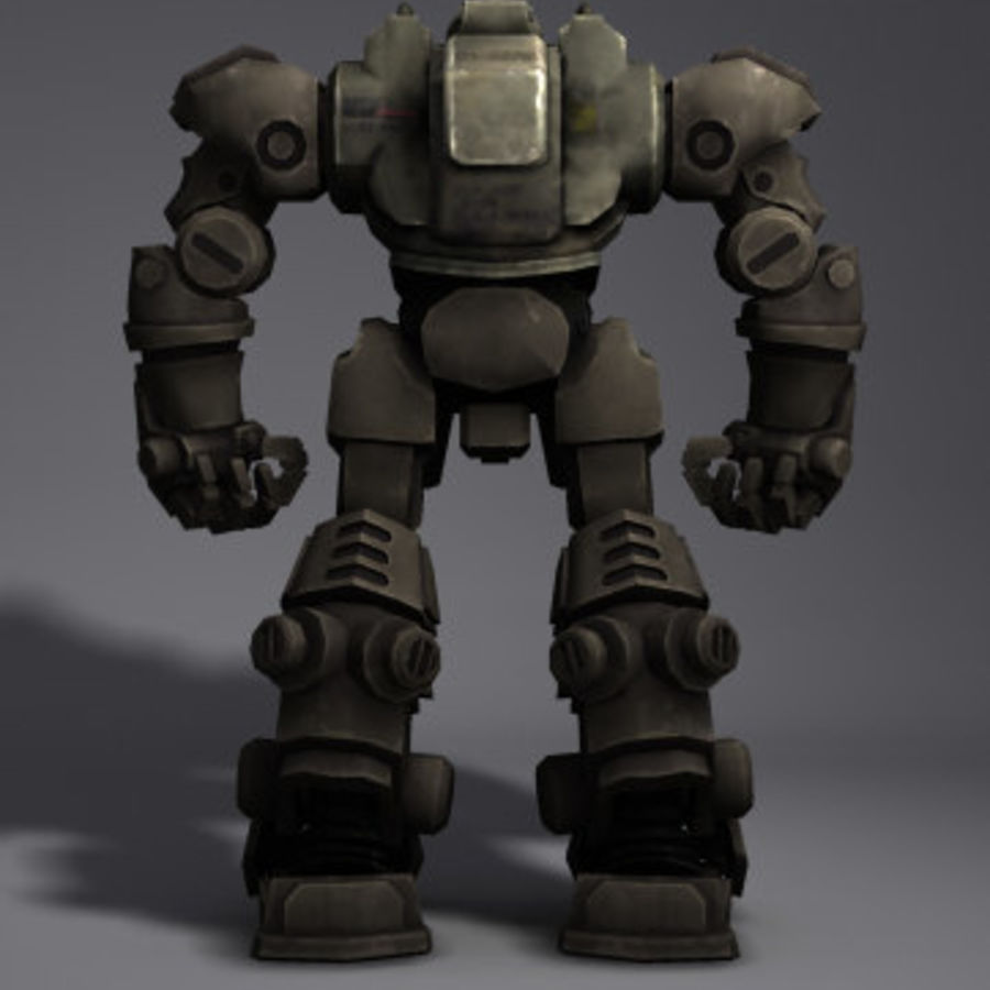 Power Armor royalty-free 3d model - Preview no. 5