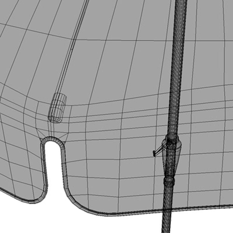 Garden umbrella royalty-free 3d model - Preview no. 5
