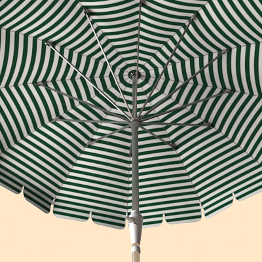 Garden umbrella royalty-free 3d model - Preview no. 3