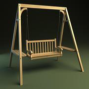 Gartenschaukel 3d model