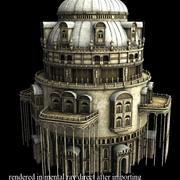 Fantasy tower 3 3d model