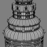 Fantasy tower 5 3d model
