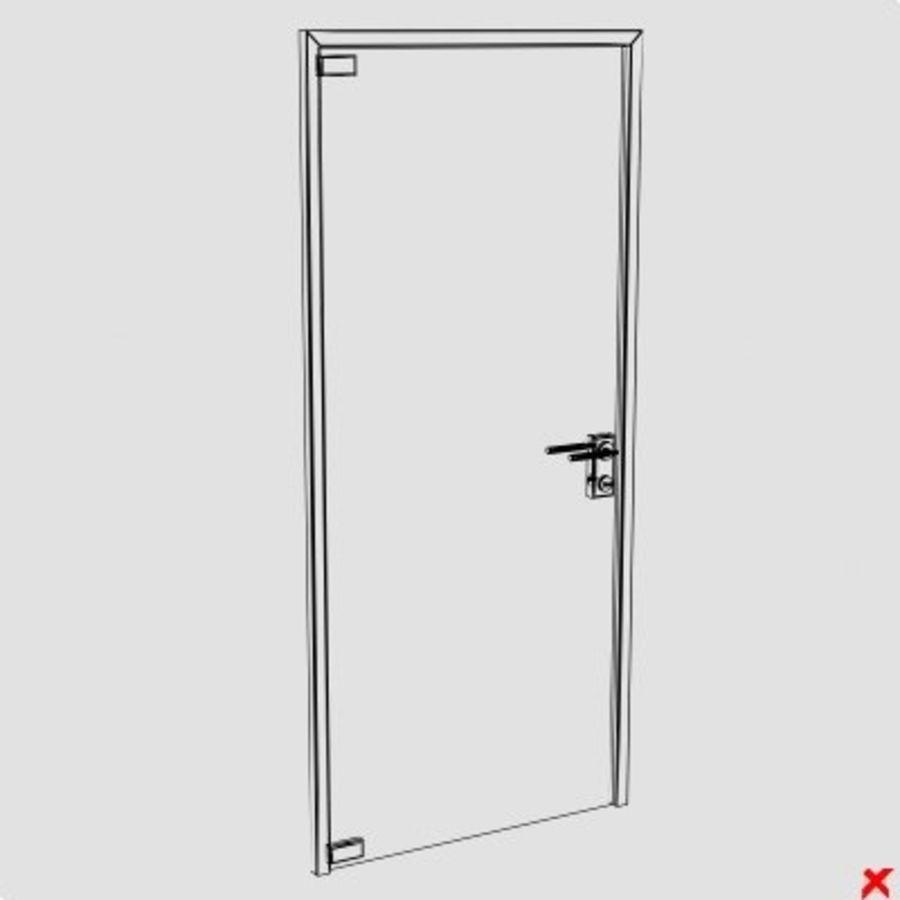 Door glass055_max.ZIP royalty-free 3d model - Preview no. 1