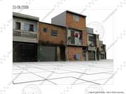 Favela from Sao Paulo 3d model