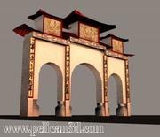 Pelican_Sandakan_Temple.zip 3d model