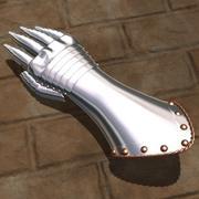长手套 3d model