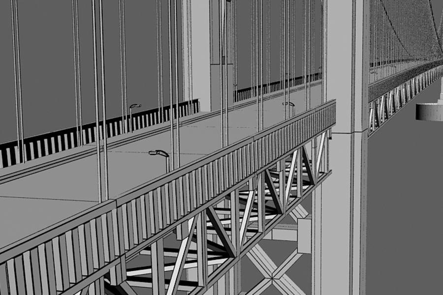 Bridge royalty-free 3d model - Preview no. 3