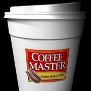 Coffee Cup  --  High Detail 3d model