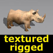 Rhino_low.max 3d model