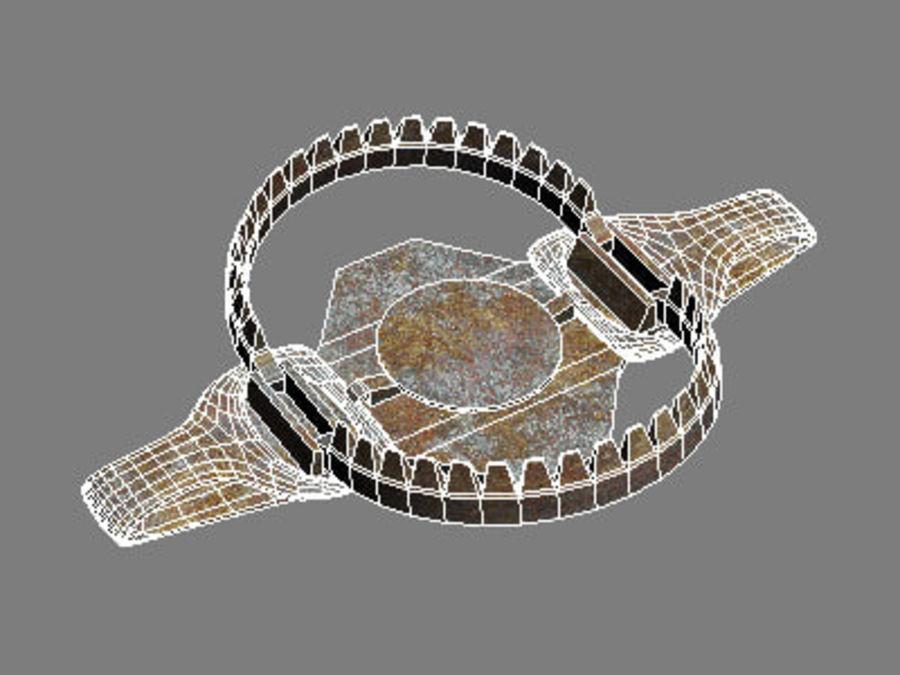 bear trap EM.max royalty-free 3d model - Preview no. 7