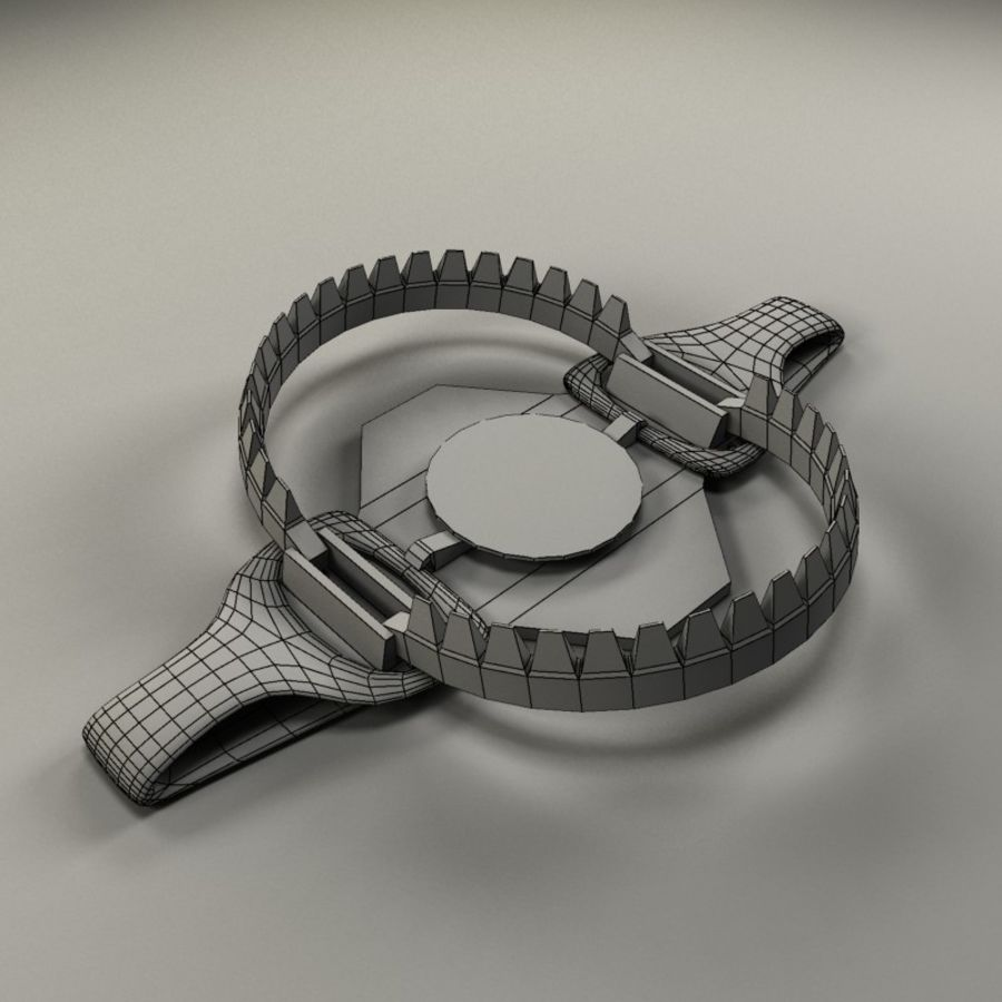 bear trap EM.max royalty-free 3d model - Preview no. 3