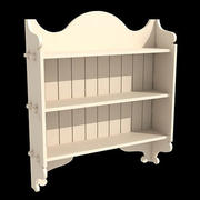 Old Eng Bookcase 2-3ds.zip 3d model