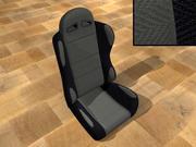 Assento de carro de corrida 3d model