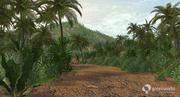 XfrogPlants Billboards: Tropical 3d model