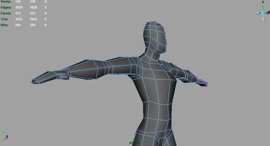 Human_base_mesh.ma royalty-free 3d model - Preview no. 1