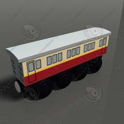 toy train 12 3d model