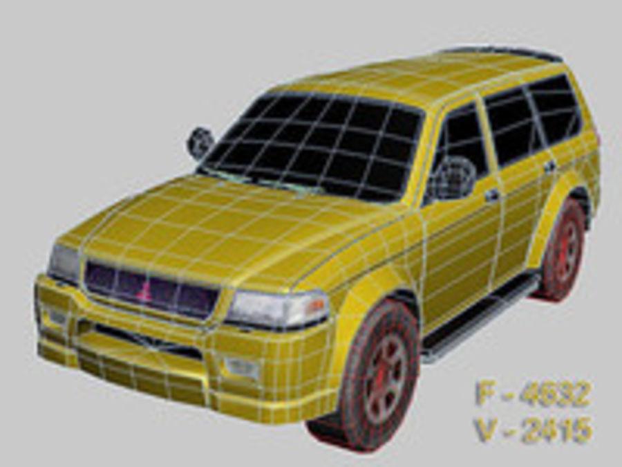 Mitsubishi Challenger royalty-free 3d model - Preview no. 10