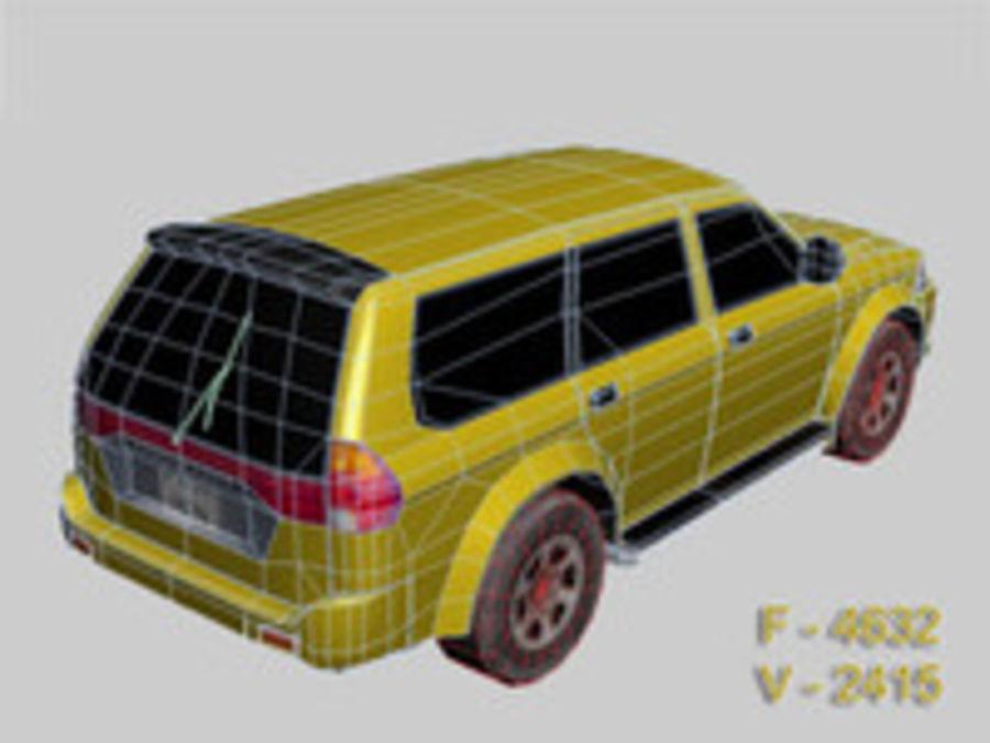 Mitsubishi Challenger royalty-free 3d model - Preview no. 3