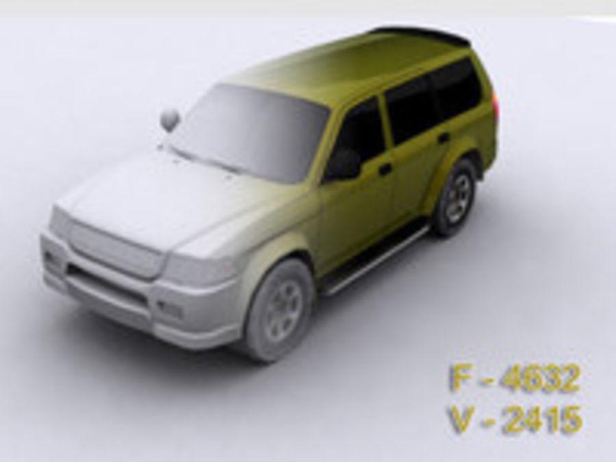 Mitsubishi Challenger royalty-free 3d model - Preview no. 7