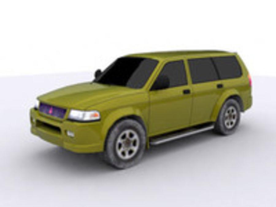 Mitsubishi Challenger royalty-free 3d model - Preview no. 8