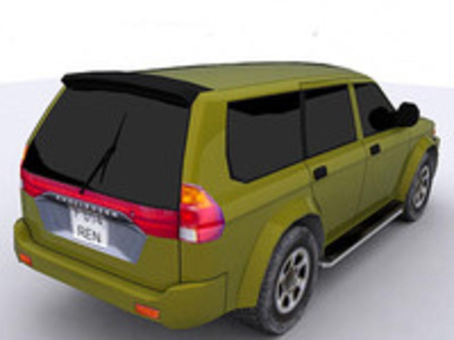 Mitsubishi Challenger royalty-free 3d model - Preview no. 4