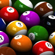 Ultimate Billiard Balls [3 SETS] 3d model