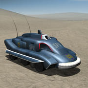 SPV - Spectrum Pursuit Vehicle 3d model