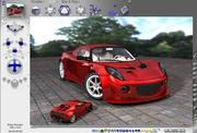 European Sports Car 3d model