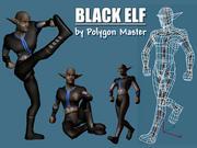 elf noir max.rar 3d model