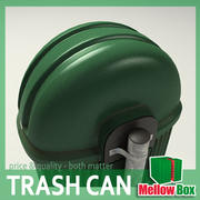 Trash can 01 3d model