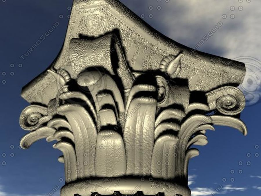 Column.zip royalty-free 3d model - Preview no. 1