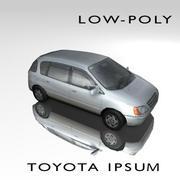 Toyota Ipsum 3d model