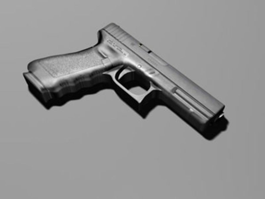 glock royalty-free 3d model - Preview no. 2