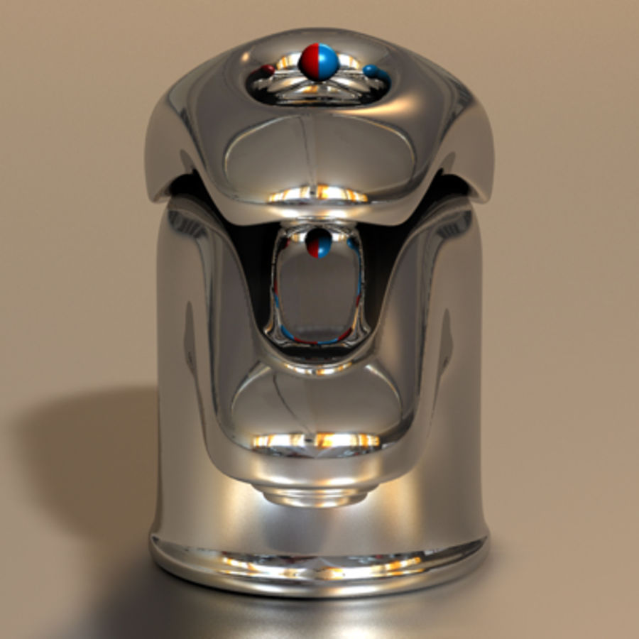 Faucet royalty-free 3d model - Preview no. 2