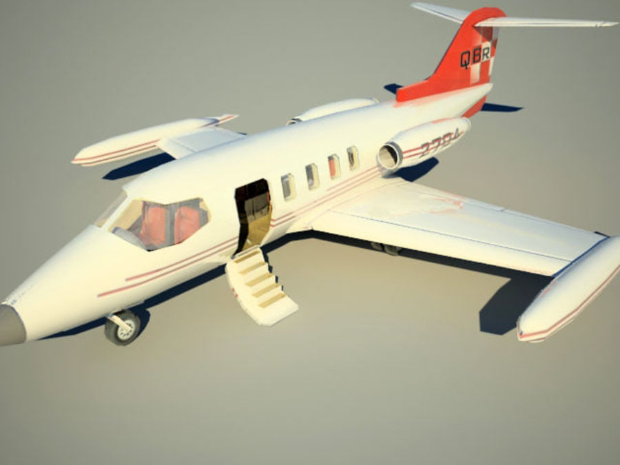 LeBombardier LearJet royalty-free 3d model - Preview no. 1