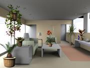 XfrogPlants Billboards: Houseplants (Max) 3d model