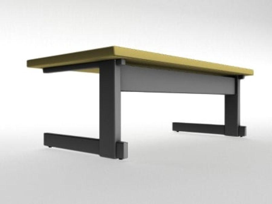 Schreibtisch royalty-free 3d model - Preview no. 3