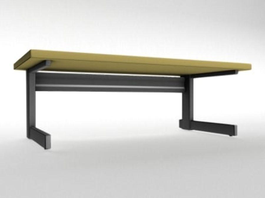 Schreibtisch royalty-free 3d model - Preview no. 2