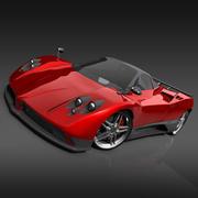 Pagani Zonda C12 F 3d model