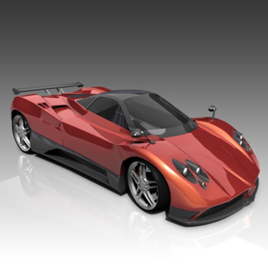 Pagani Zonda C12 F 3D Model $10