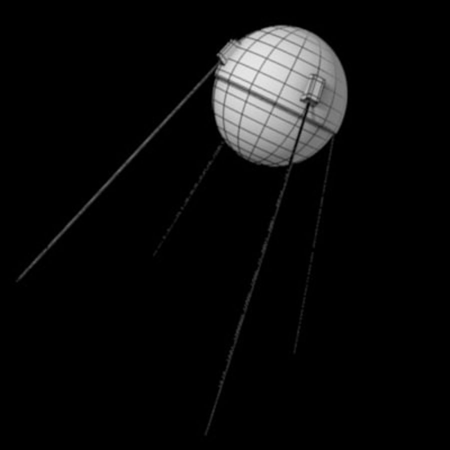 sputnik.3ds royalty-free 3d model - Preview no. 3
