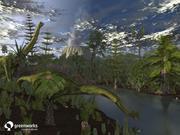 XfrogPlants Billboards: Prehistoric 3d model