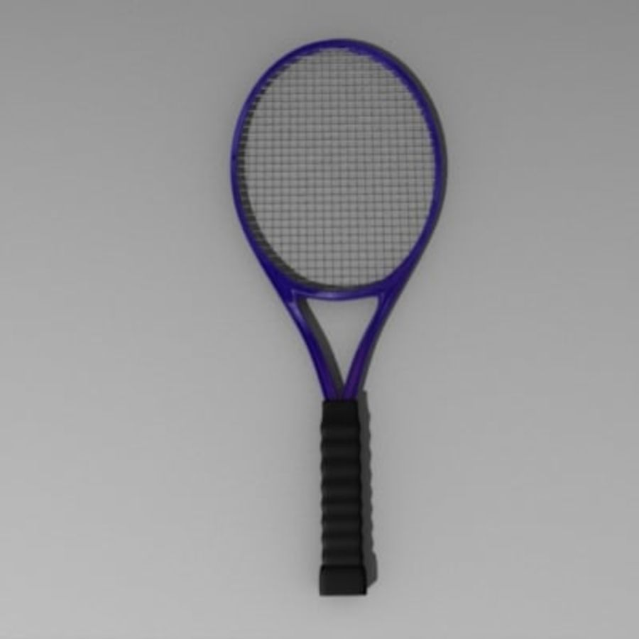 racket.3ds royalty-free 3d model - Preview no. 4