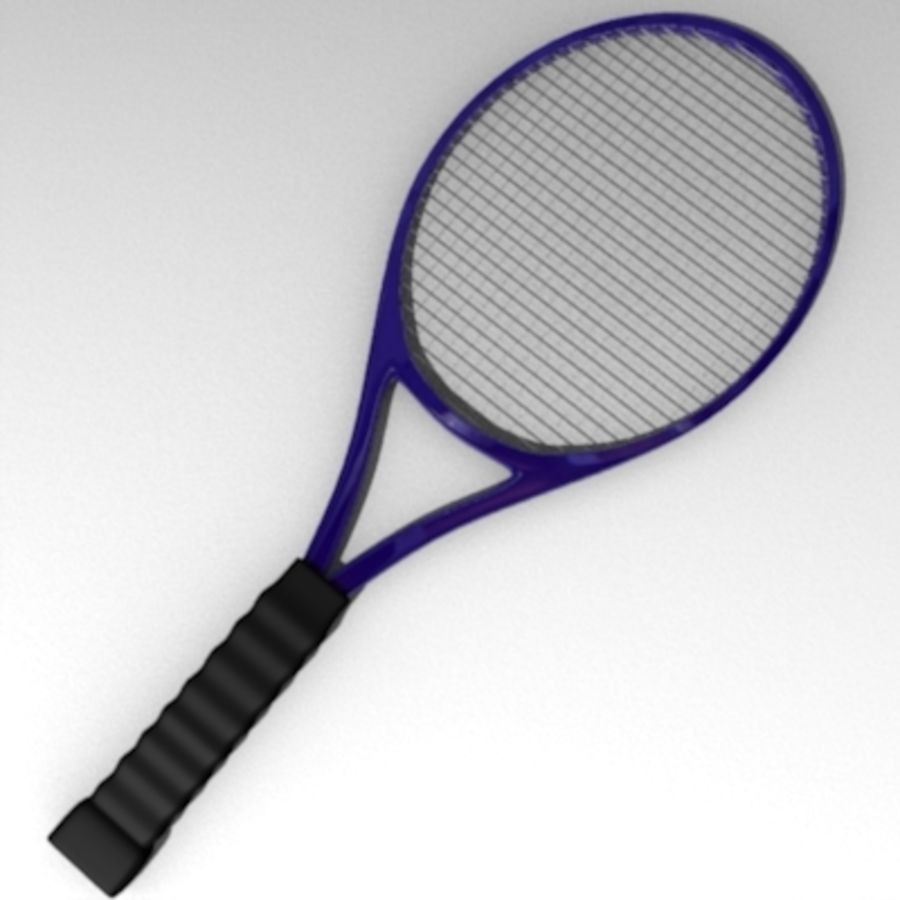 racket.3ds royalty-free 3d model - Preview no. 1